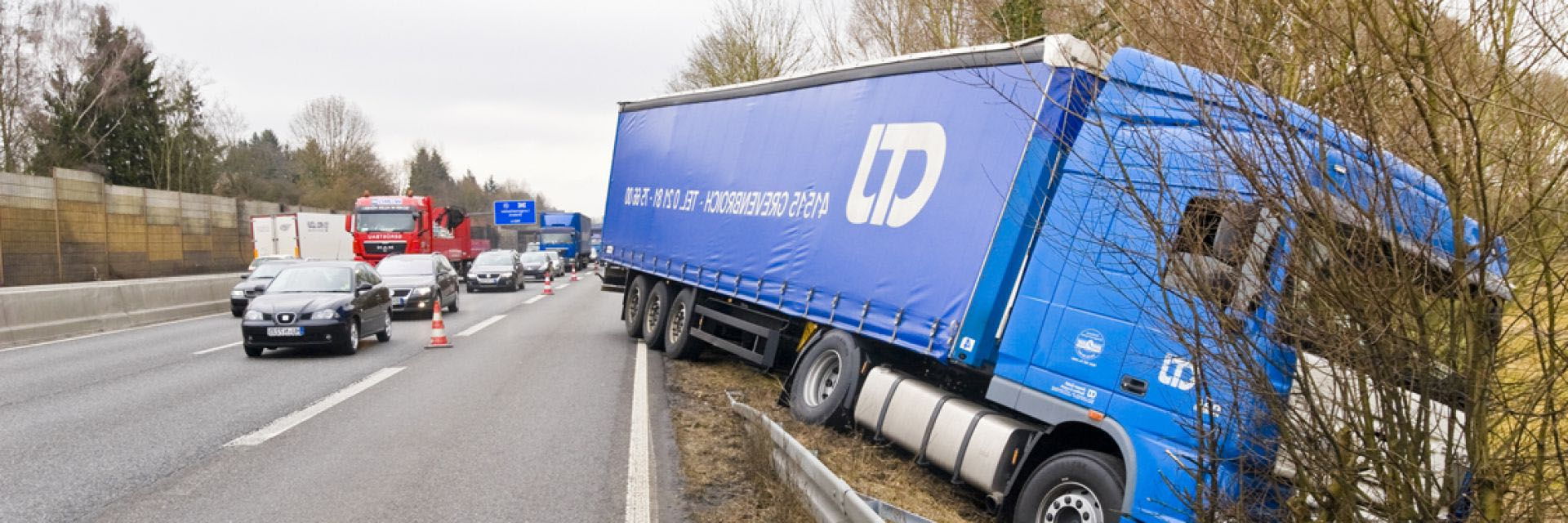Lorry Collision Investigation