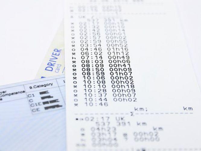 Tachograph Print